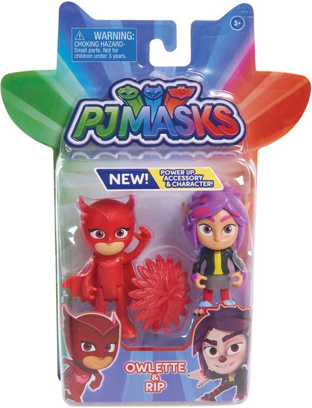 Wholesalers of Pj Masks 2 Pack Figure Set - Owlette And Wolfie Rip toys