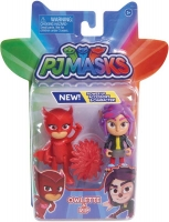 Wholesalers of Pj Masks 2 Pack Figure Set - Owlette And Wolfie Rip toys image