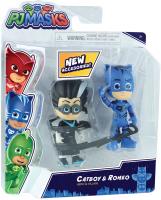 Wholesalers of Pj Masks 2 Pack Figure Set - Series 2 - Catboy & Romeo toys image