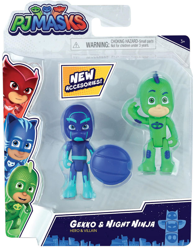Wholesalers of Pj Masks 2pk Figure Set - Series 2 - Gekko & Night Ninja toys