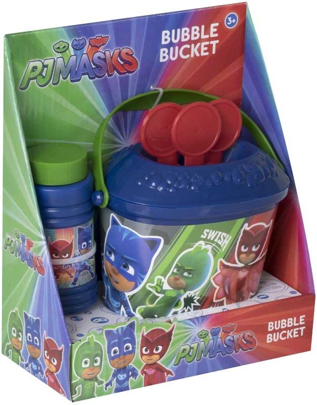 Wholesalers of Pj Masks Bubble Bucket toys