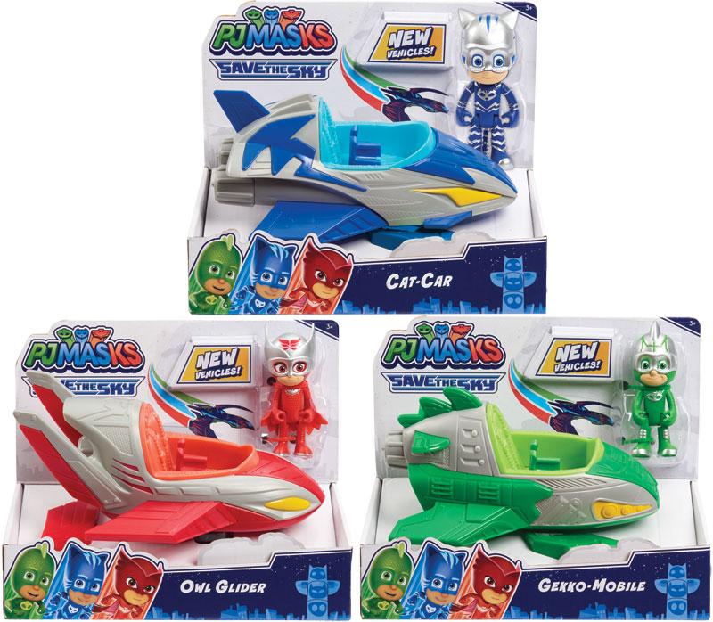 Wholesalers of Pj Masks Core Plus Save The Sky Asst toys