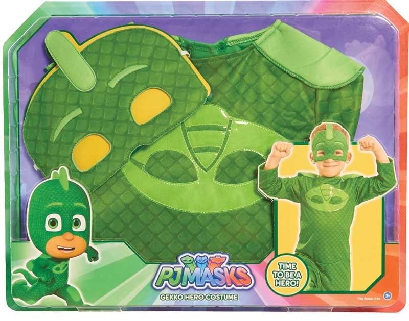 Wholesalers of Pj Masks Costume Set - Gekko toys