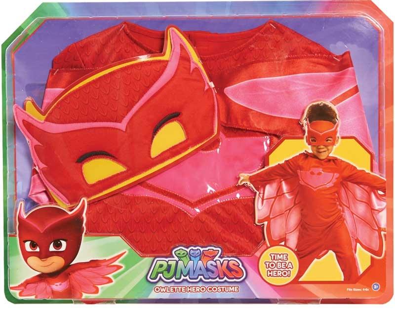 Wholesalers of Pj Masks Costume Set - Owlette toys