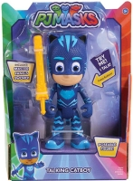 Wholesalers of Pj Masks Deluxe 15cm Talking Figure - Cat Boy Wave 3 toys image