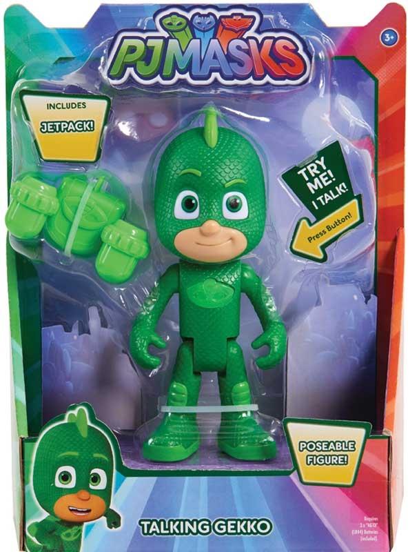 Wholesalers of Pj Masks Deluxe 15cm Talking Figure - Gekko Wave 3 toys