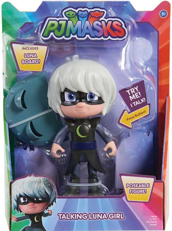 Wholesalers of Pj Masks Deluxe 15cm Talking Figure - Luna Girl Wave 3 toys