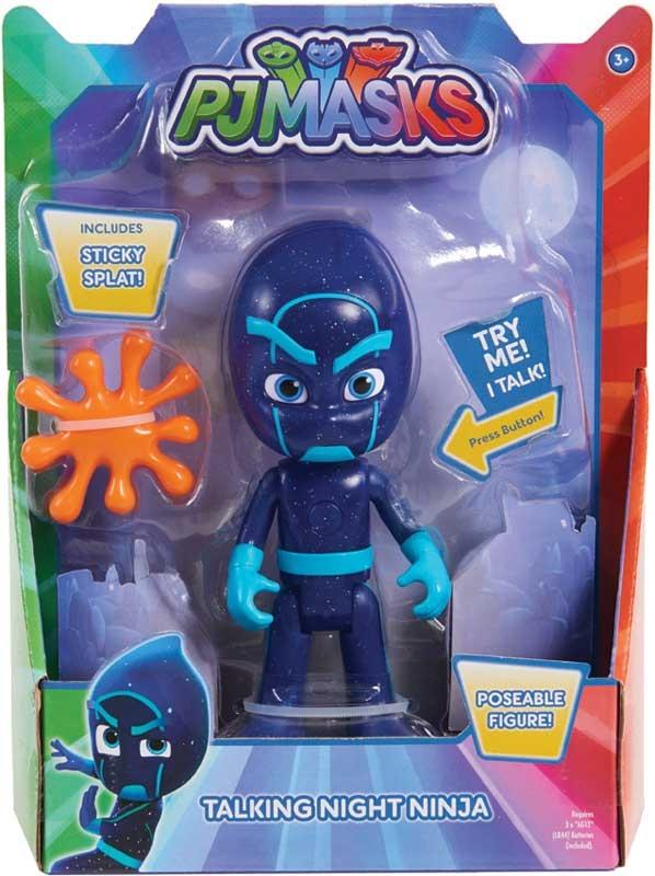 Wholesalers of Pj Masks Deluxe 15cm Talking Figure - Night Ninja Wave 3 toys