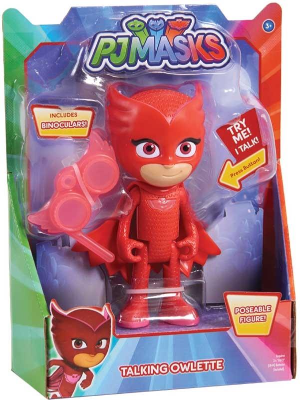 Wholesalers of Pj Masks Deluxe 15cm Talking Figure - Owlette Wave 3 toys