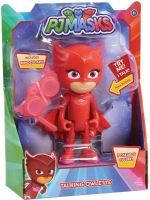Wholesalers of Pj Masks Deluxe 15cm Talking Figure - Owlette Wave 3 toys image