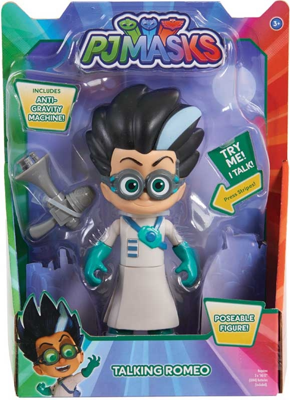 Wholesalers of Pj Masks Deluxe 15cm Talking Figure - Romeo Wave 3 toys