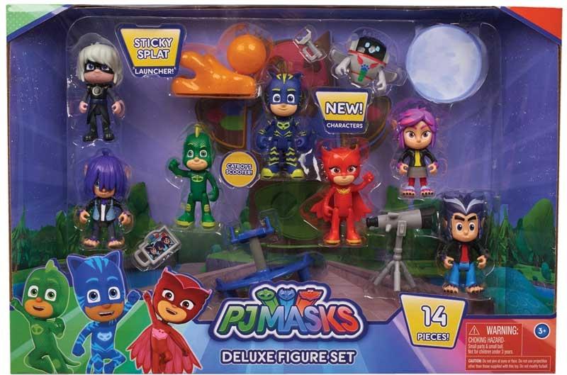 Wholesalers of Pj Masks Deluxe Figure Set toys