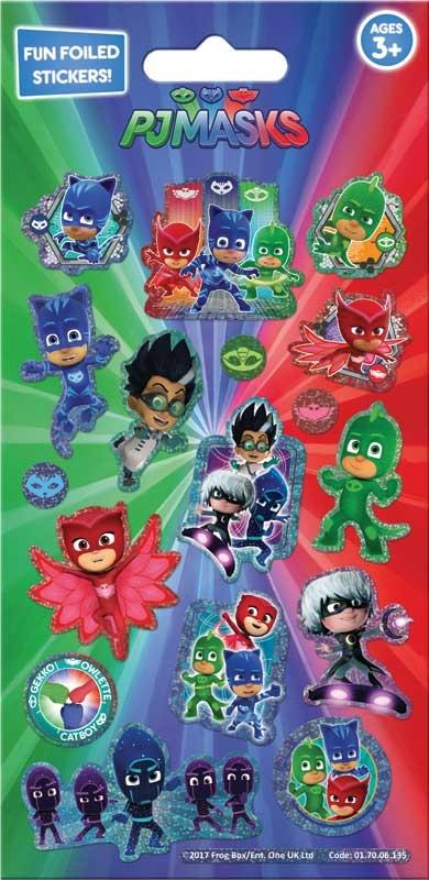 Wholesalers of Pj Masks Foil Stickers toys