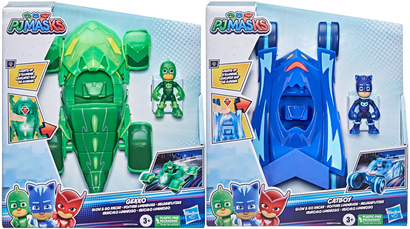 Wholesalers of Pj Masks Glow And Go Racers Asst toys