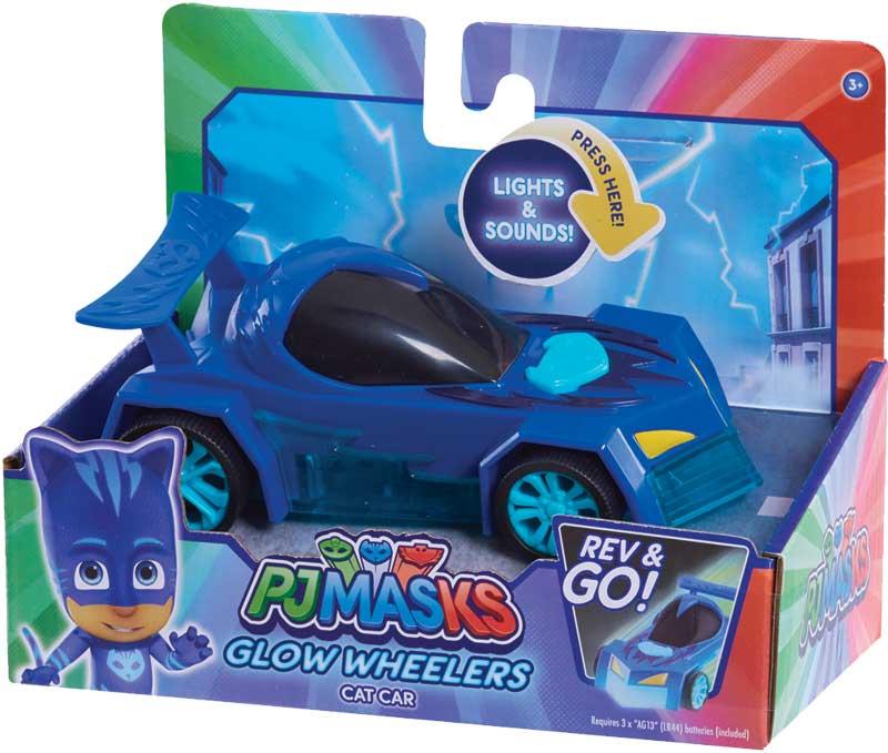 Wholesalers of Pj Masks Glow Wheelers - Catboy toys