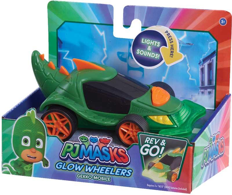 Wholesalers of Pj Masks Glow Wheelers - Gekko toys