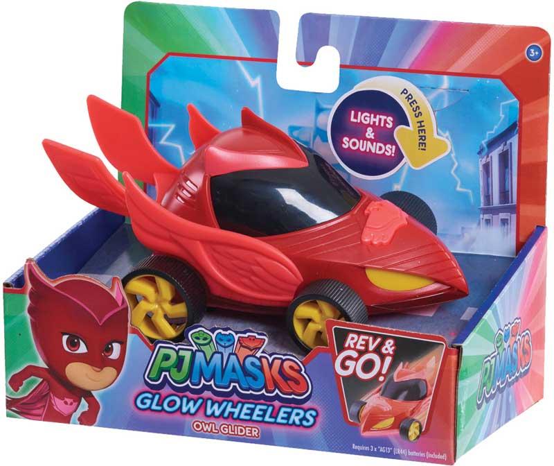 Wholesalers of Pj Masks Glow Wheelers - Owlette toys