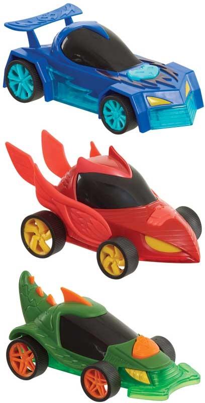 Wholesalers of Pj Masks Glow Wheelers Asst toys