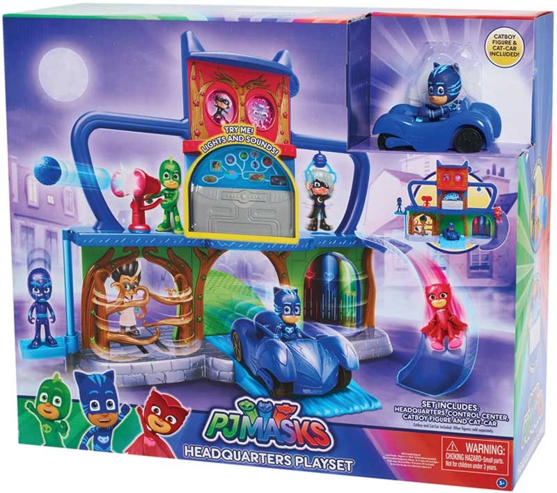 Wholesalers of Pj Masks Headquarters Playset toys
