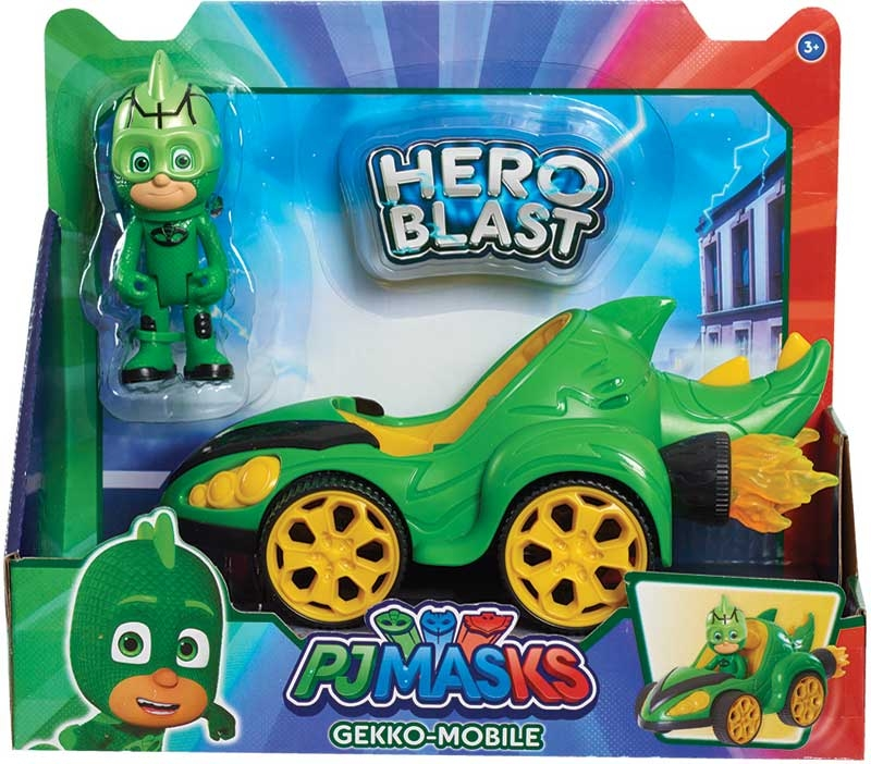 Wholesalers of Pj Masks Hero Blast Vehicles- Gekko toys