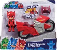 Wholesalers of Pj Masks Kickback Motorcycles - Owlette toys image