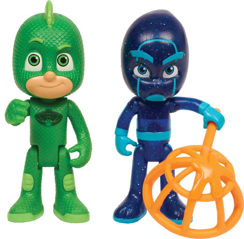 Wholesalers of Pj Masks Light Up Figure 2pk - Gekko & Night Ninja Wave 2 toys