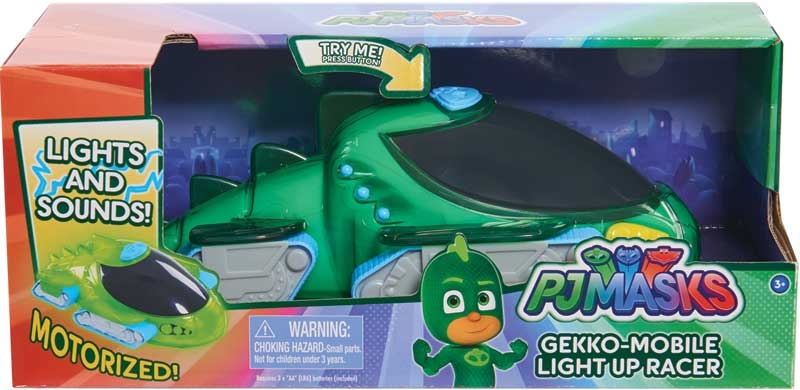Wholesalers of Pj Masks Light Up Racer Vehicle - Gekkos Gekko Mobile toys
