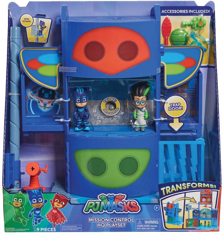 Wholesalers of Pj Masks Mission Control Hq Playset toys