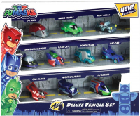 Wholesalers of Pj Masks Night Time Micros Deluxe Vehicle Set toys image