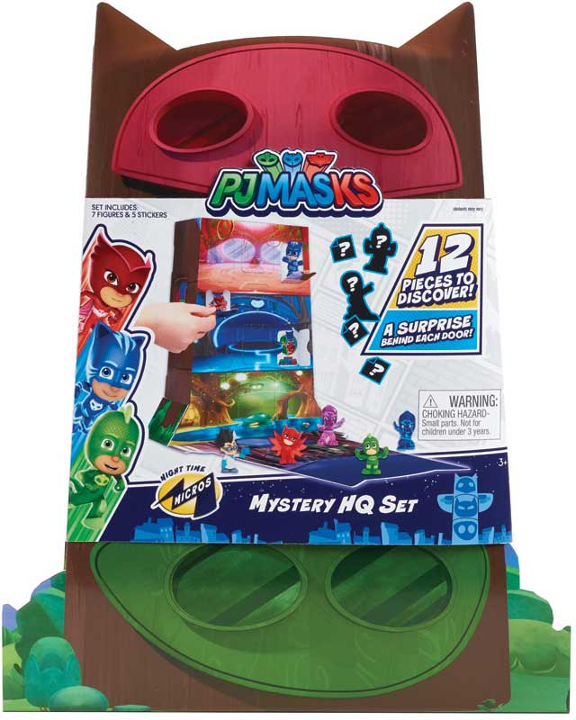 Wholesalers of Pj Masks Night Time Micros Mystery Hq toys