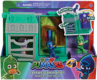 Wholesalers of Pj Masks Nighttime Micros Trap & Escape Playset - Gekko & Ni toys image