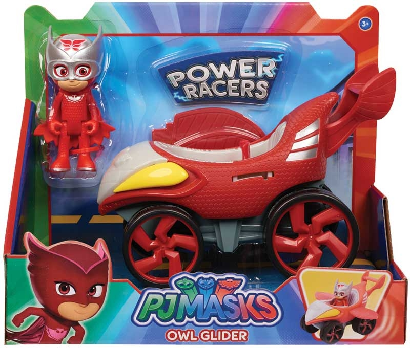 Wholesalers of Pj Masks Power Racer Vehicle And Figure - Owlette toys