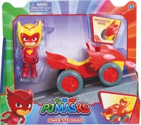 Wholesalers of Pj Masks Quad Vehicle - Owlette toys image