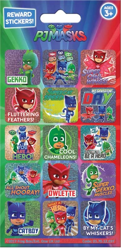 Wholesalers of Pj Masks Reward Stickers toys