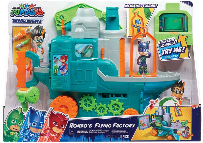 Wholesalers of Pj Masks Romeos Flying Factory Playset toys