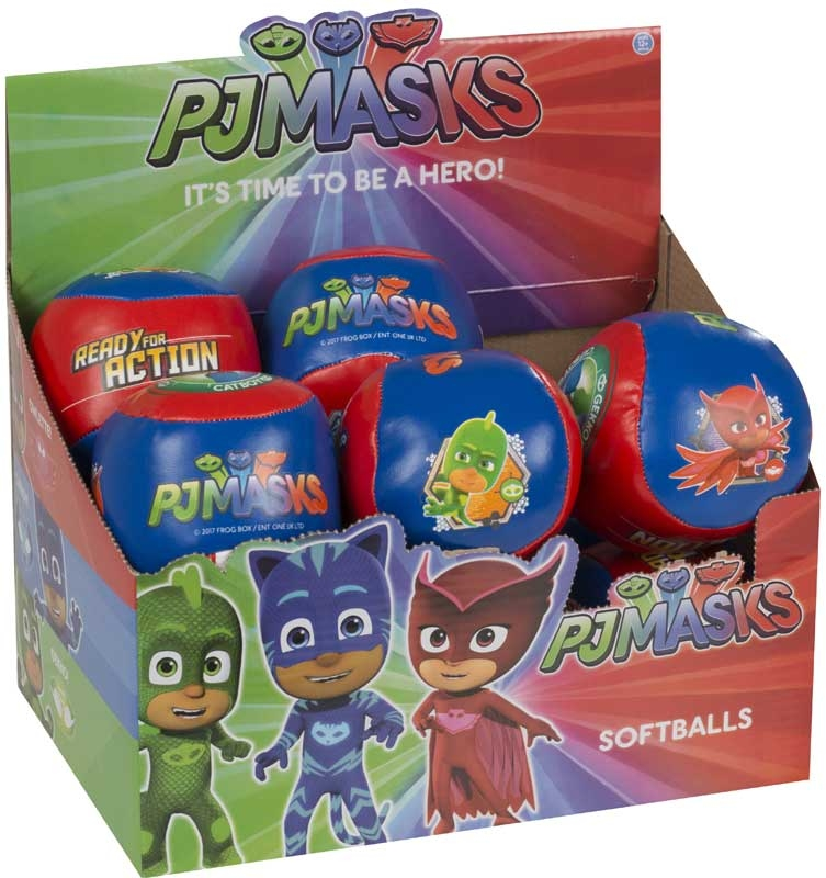 Wholesalers of Pj Masks Soft Ball toys