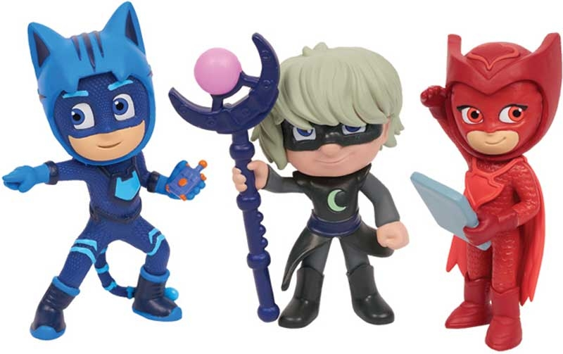 Wholesalers of Pj Masks Super Moon 5 Pack Collectible Figures Set toys