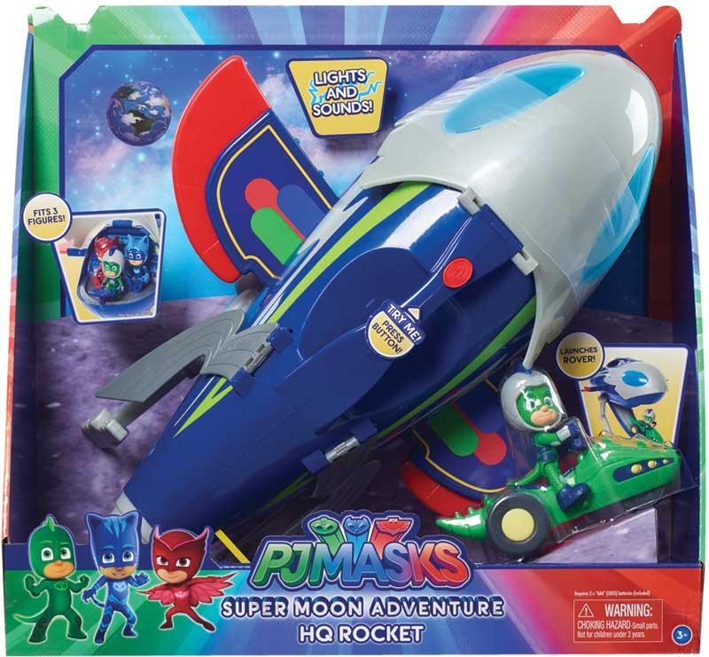 Wholesalers of Pj Masks Super Moon Adventure Hq Rocket toys