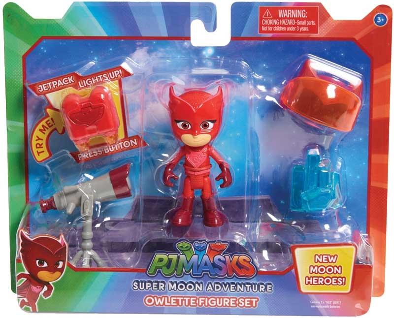 Wholesalers of Pj Masks Super Moon Figure & Accessory Set - Owlette toys