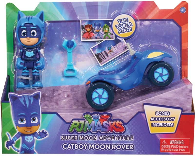 Wholesalers of Pj Masks Super Moon Space Rover And Figure - Catboy toys
