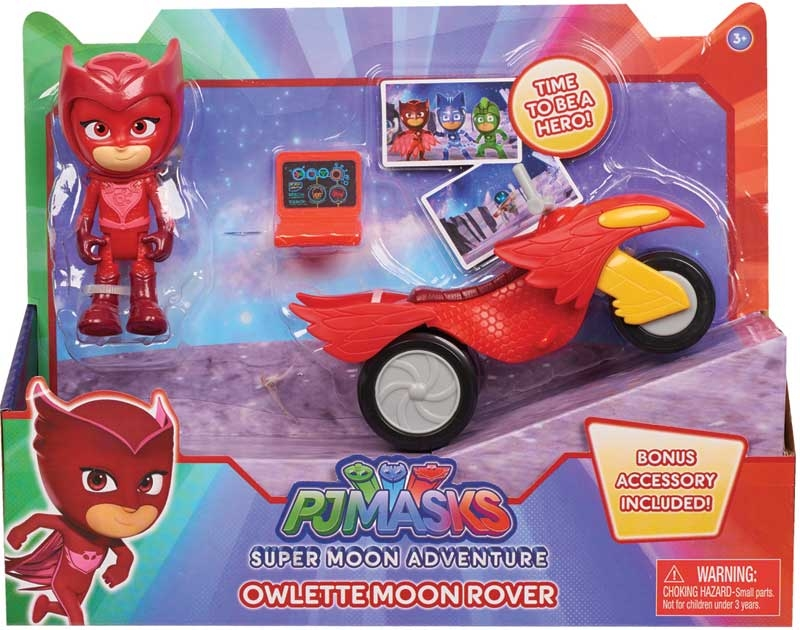 Wholesalers of Pj Masks Super Moon Space Rover And Figure - Owlette toys