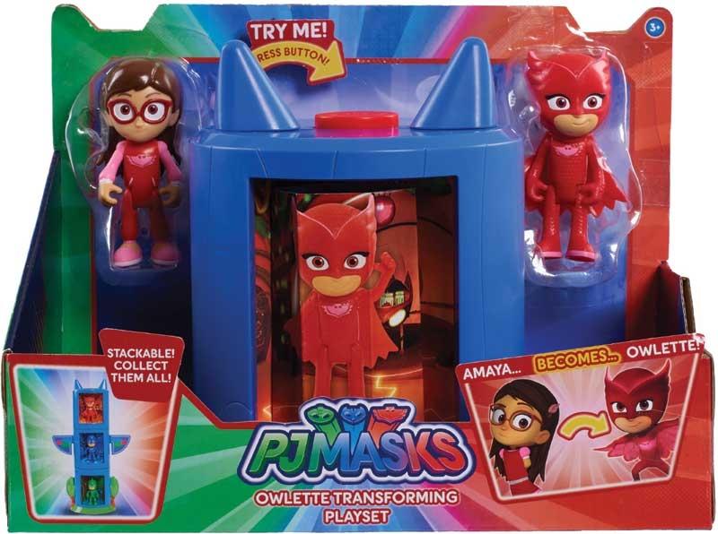 Wholesalers of Pj Masks Transforming Figure Set - Owlette toys