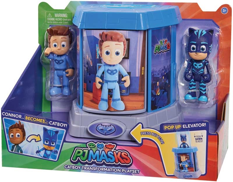 Wholesalers of Pj Masks Transforming Figures Playset - Catboy toys