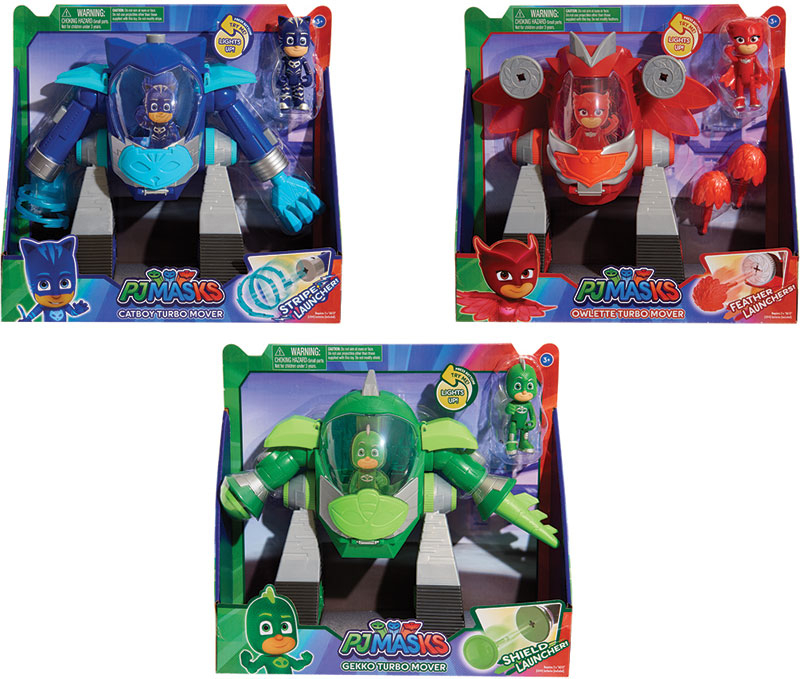 Wholesalers of Pj Masks Turbo Mover Vehicle Assortment toys