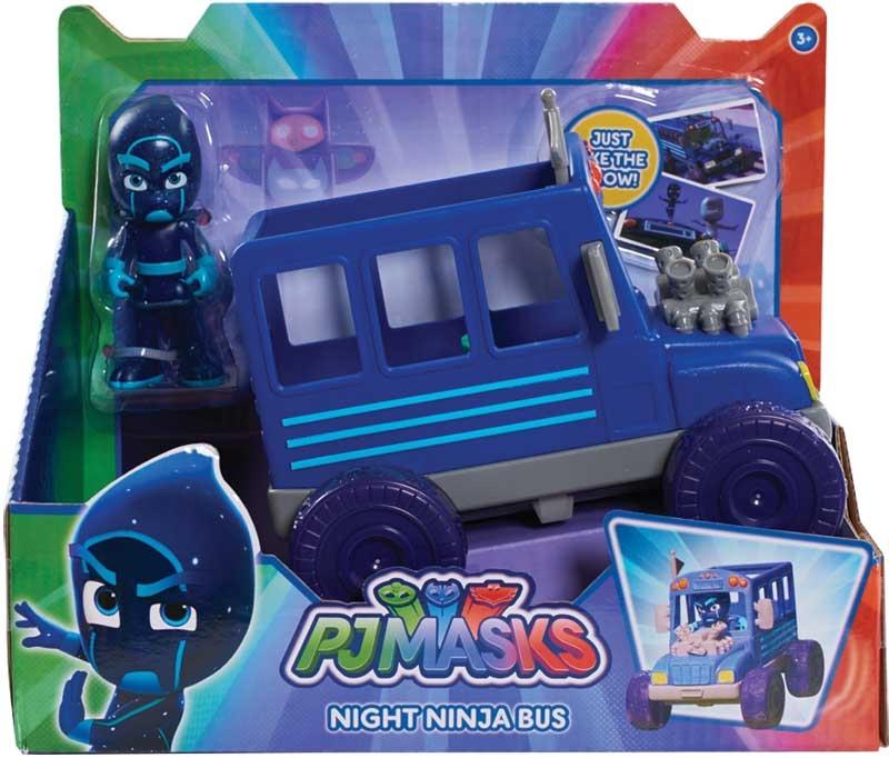 Wholesalers of Pj Masks Vehicle And Figure - Night Ninja Bus toys