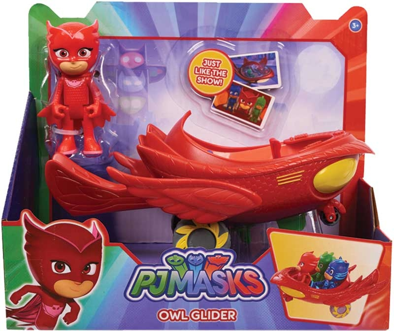 Wholesalers of Pj Masks Vehicle And Figure - Owlette Owl Glider toys