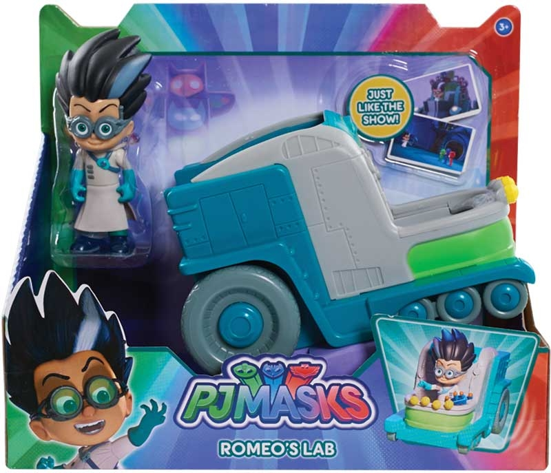 Wholesalers of Pj Masks Vehicle And Figure - Romeos Lab toys