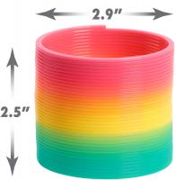 Wholesalers of Plastic Rainbow Slinky toys image 3