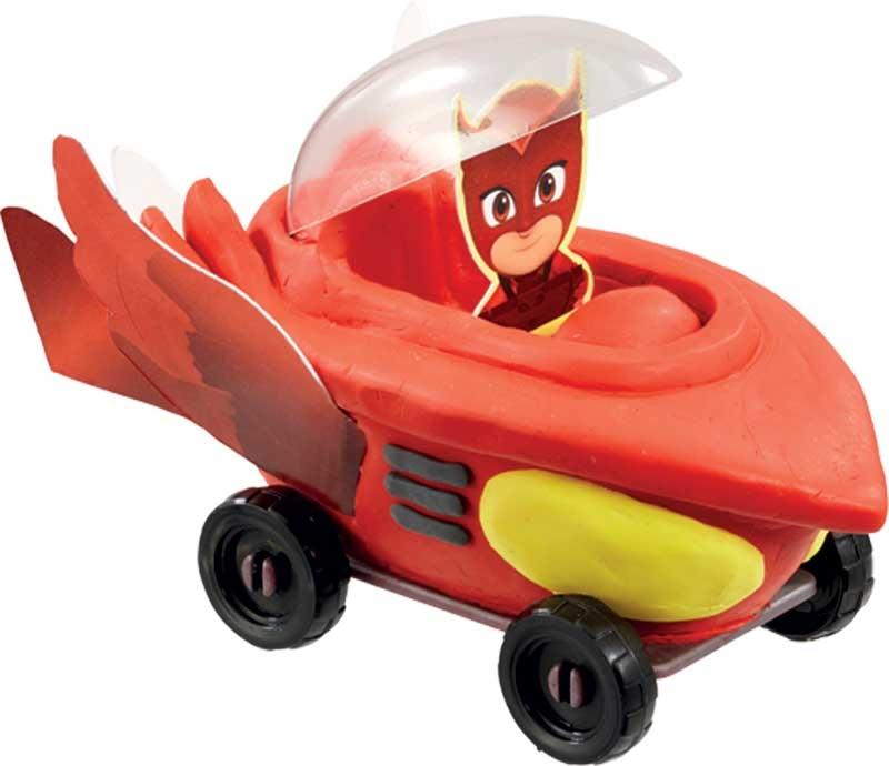 Wholesalers of Plasticine Softeez Pj Masks Vehicle Set Asst toys