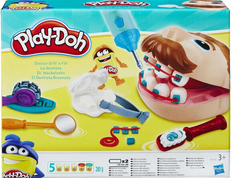 Wholesalers of Play Doh - Doctor Drill N Fill toys